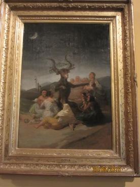 L'Aquelarre de Goya.