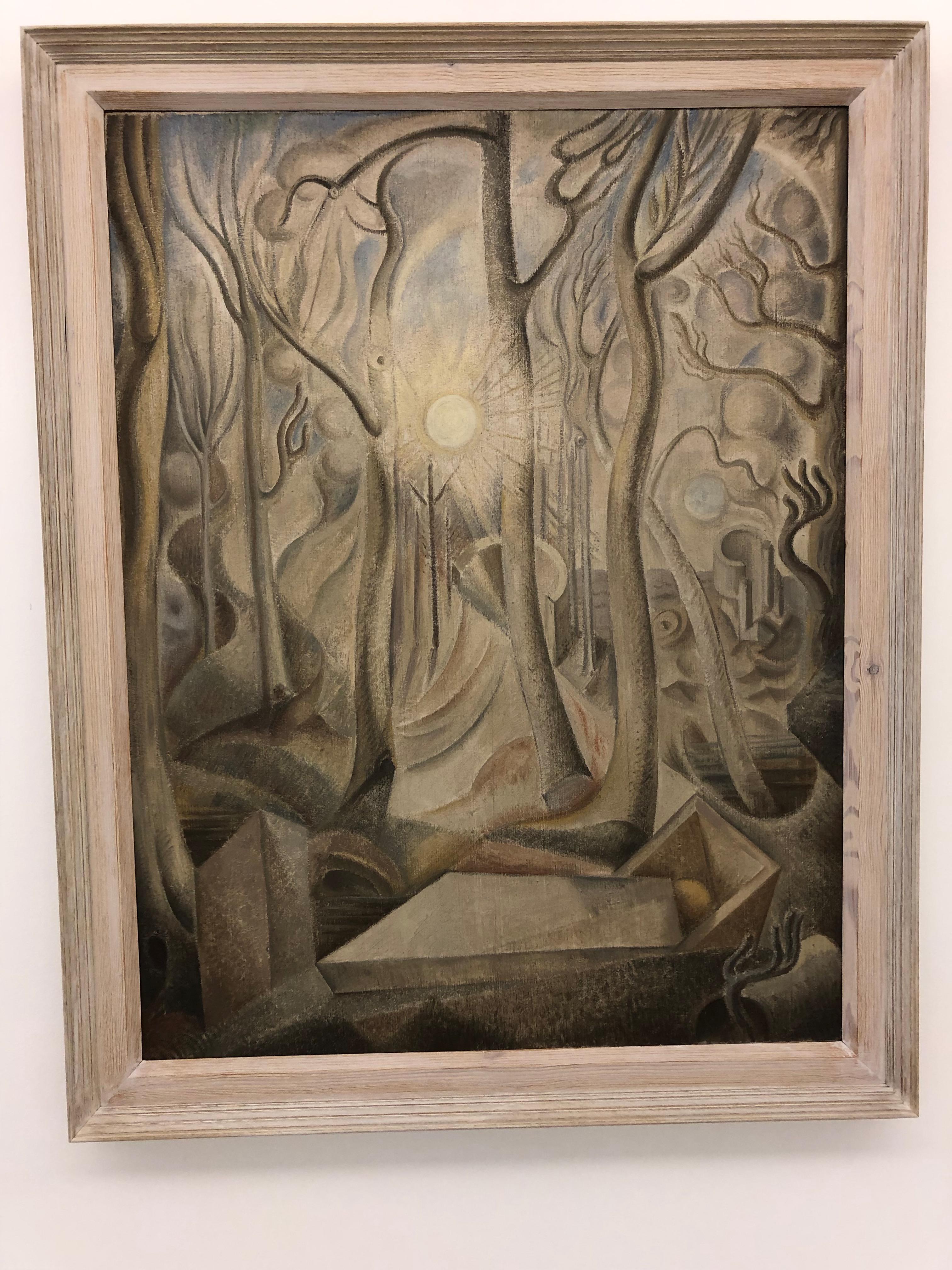 A. Masson. Le Cimetière. 1924