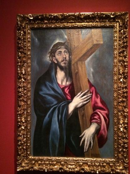 El Greco Crist amb la creu, 1585 Col·lecció particular