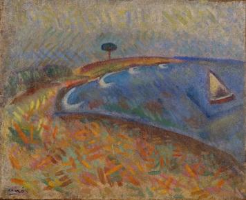 Joan Miró. La Platja de Mont-roig. 1917. FJM 08917