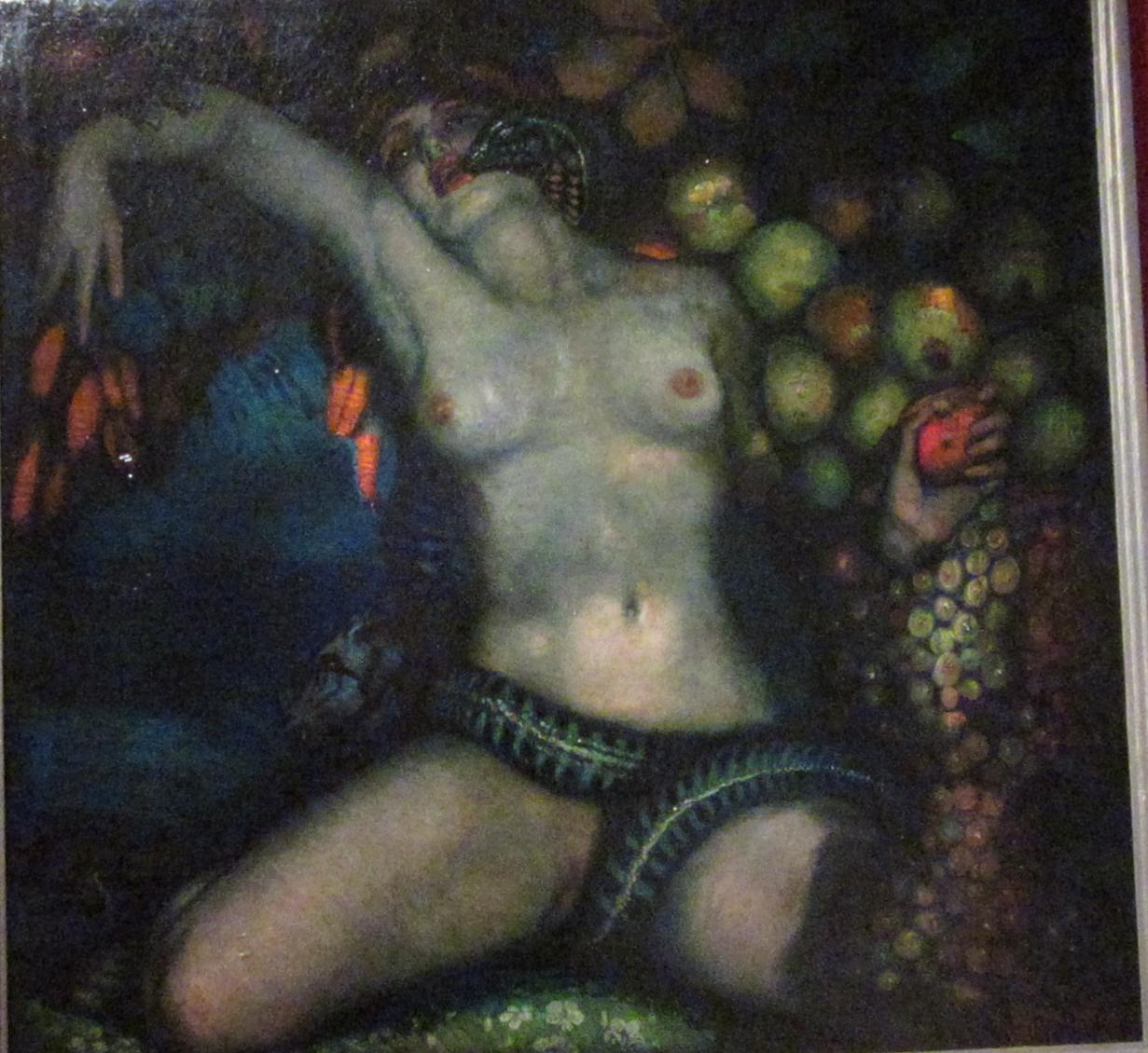 Federico Beltrán Masses. La noche de Eva. 1929. Fundación Suñol. Barcelona
