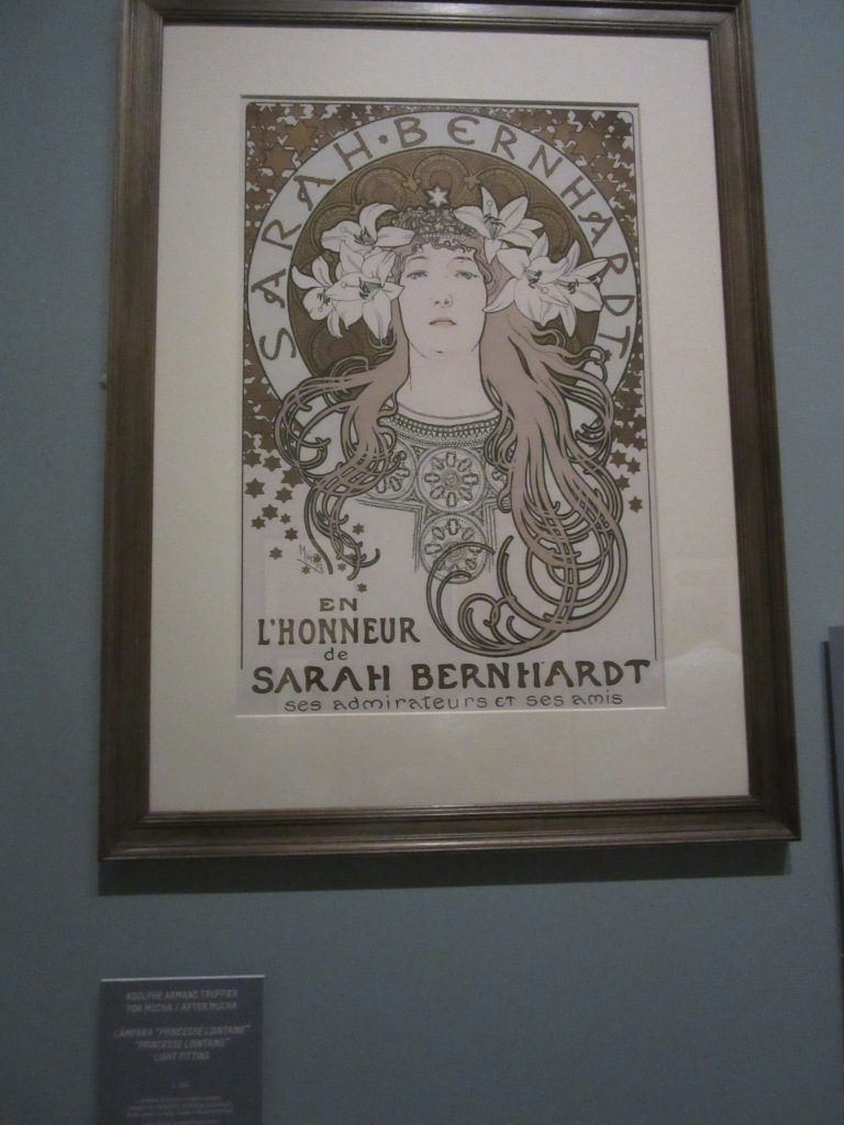 Alphons Mucha. En l'honneur Sarah Bernnardt