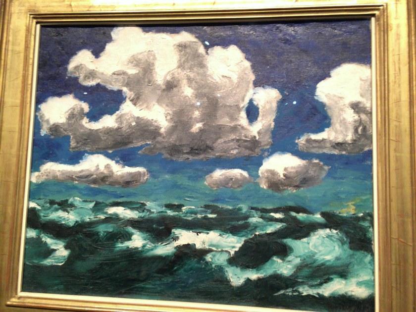 Emil Nolde. Núvols d'estiu. 1913